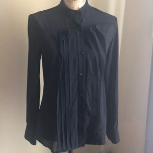 Black Theory Silk Top - size small